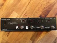 Fame PXL4 - Guitar Effect Pedal Programmable Switcher - True Bypass