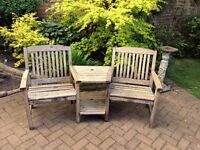 Hartmann Hardwood Companion Seat