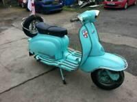Lambretta series 2 . 1961 (italian)