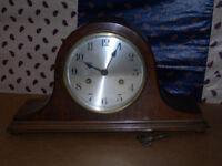 Napoleon hat clock.