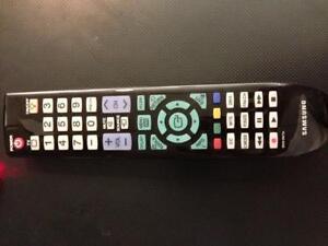 Genuine Samsung Remote Control BN59-00852A Compatible with LN32B550K1F, LN32B640R3F, LN37B550K1F, LN40B550K1F, LN40B610A