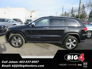 2015 Jeep Grand Cherokee Limited, NAV, Leather, BLOW OUT!!!