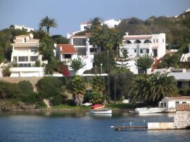Spain- Menorca- Stunning waterfront villa, private pool. Close to greatr beaches and restaurants.