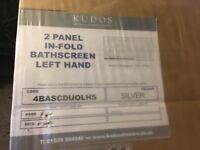 Over the bath kudos shower screen