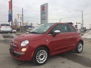 2015 Fiat 500C Lounge ~Convertible ~Heated Seats ~Leather