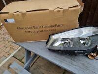 Mercedes a class n/s headlight brand new