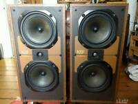 Vintage Kef Carina 2 speakers, Made in England