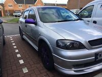 Custom Vauxhall Astra show car lady owner used for shows new car forces sale