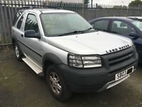 Breaking 2003 LANDROVER FREELANDER Petrol Manual 5 Speed All Parts Available