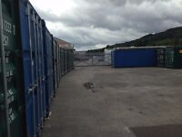 Self-Storage, secure and low-cost, in new shipping containers, Fabian Way Swansea