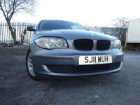 011 BMW 118 DIESEL ES 2.0,MOT NOV 018,2 OWNERS FROM NEW,9 STAMPS SERVICE HISTORY,STUNNING EXAMPLE