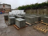 Large selection of slabs, decorative gravels, edging kerbs, bark 7 much more.