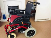 Electric wheelchair in perfect condition, used twice...