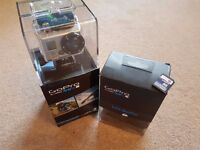 GoPro Hero 2 Bundle with Bacpac LCD Screen & SD-Card & original packaging - excellent condition