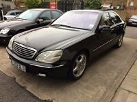 Mercedes-Benz S Class 4.3 S430 4dr LEATHER SEATS & SAT NAV, £295 tax yearly