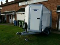 Ifor Williams box trailer type bv85g