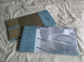 NEW Tablemats - 2 sets of 8 - very useful/quite neutral colour