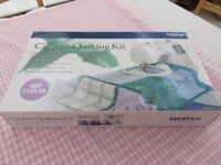 Brother Creative Quilting Kit.