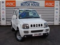 Suzuki Jimny SZ3 (STUNNING 4X4) FREE MOT'S AS LONG AS YOU OWN THE CAR!!! (white) 2011