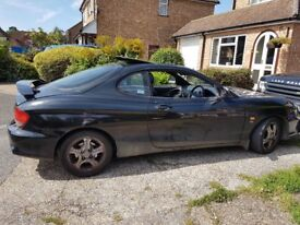 Hyundi Coupe - Black - low milleage - MOT - Great Runner