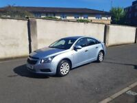 2011 chevrolet cruze 1.6 petrol only 49000 miles f/s/h