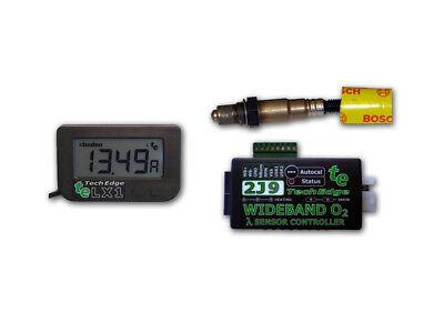 TechEdge 2J Wideband O2 Controller & LX1 Display Kit Gauge Innovate AEM