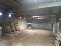 Farm Out Buildings For Rent (No Livestock) From £75pwk