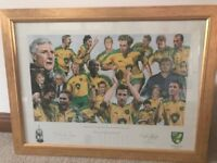 Norwich City Division Champions Framed Print 2003-2004