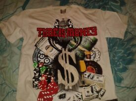 White Time is Money & Grey Time is Money t-shirts on sale