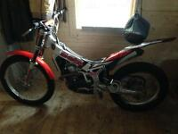 Beta 250 rev 3 trials bike
