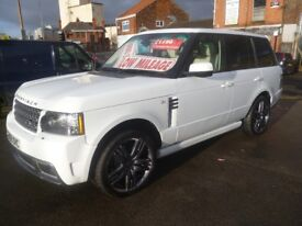 RANGE ROVER Vogue,leather interior,22 inch Graphite alloys,low mileage,only 55,000 miles