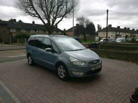 FORD GALAXY AUTOMATIC 1.9 2010 7 SEATER SKY BLUE
