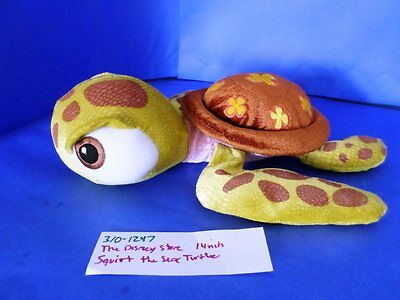 The Disney Store Squirt the Baby Sea Turtle(310-1247)