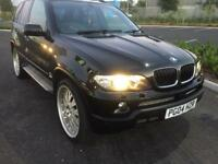 "2004 bmw x5 3.0 d sport low miles 22"" wheels blk on blk 1 off spec try finding another as nice"
