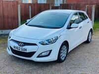 2012 Hyundai i30 1.6 Diesel. £0 Road tax.2 keys.