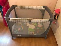 Maclaren baby rocker / bouncer ** Joie full travel cot with baby changing unit ** Baby Walker