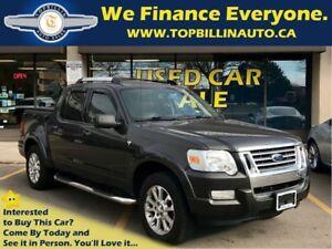2007 Ford Explorer Sport Trac Limited 4.6L LEATHER, SUNROOF
