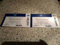 2 Flight of the Conchords- Thrs 29th of March (Swap/Sell)
