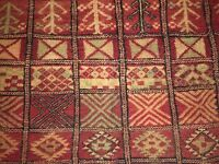 Ancient Handmade Moroccan Rug
