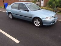 Rover 45 1.4 16v,2002, 75k, FULL SERVICE!!!! Reduced, £295
