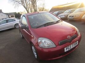 2002 Toyota Yaris 1.0 VVTu colour Collection £1250 p/x considered
