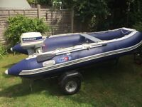 4M inflatable dinghy package