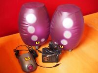 Inflatable speakers
