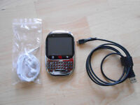 iNQ Android Phone like Blackberry unlocked with USB Charger Cable and handsfree kit