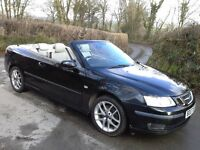 Saab 93 Vector Convertible 1.9 tid 6sp manual 150bhp full leather 2 keys many extras