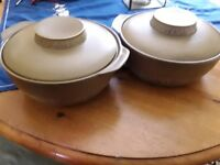 British Anchor Strata oven to table ware.