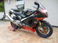 "APRILLIA RSV MILLE ""R"". LOW MILEAGE FSH. **TOTALLY LOVELY**"