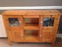 IKEA solid pine sideboard