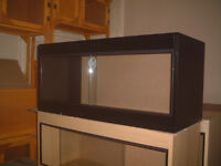 brand new 3ft vivarium in black