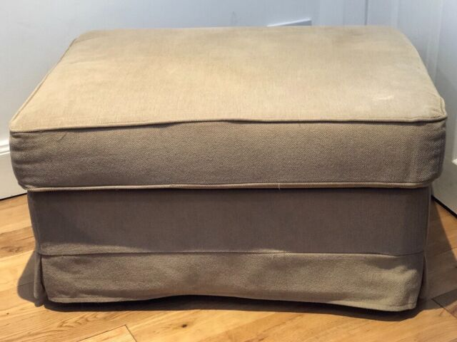 Awe Inspiring Ikea Ektorp Beige Footstool With Removable Top And Hidden Storage Nearly New 30 In Joppa Edinburgh Gumtree Ibusinesslaw Wood Chair Design Ideas Ibusinesslaworg
